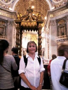 2010 Julie at St Peter's