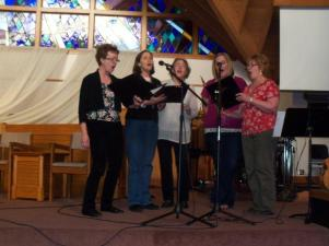 2012 Worship Arts ladies ensemble