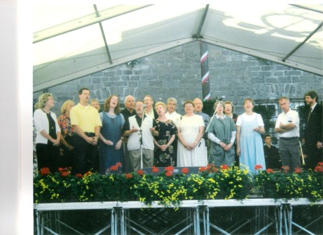 Here is the 2000 West Hills Church Germany team. We were not the choir but we sang like one!