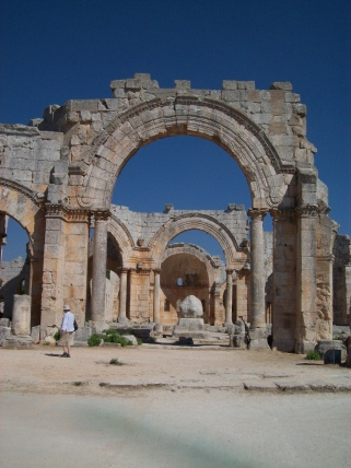 A beautiful and peaceful spot, St. Simeon Stylites near Aleppo.