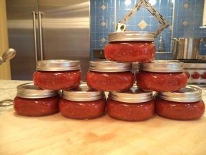 2013 vintage tomato jam