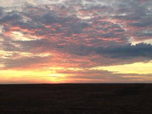 Sunrise photo by Sally Gerard.