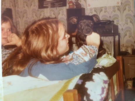Cathy and me in my bedroom with Tiny Tim Carlos Chico Pisarkewicz Prescott.