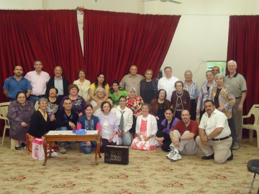 Basrah church family Nov 2011