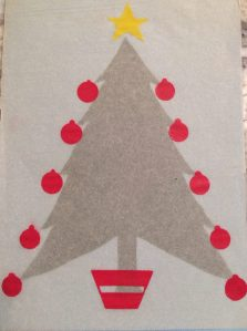 Jana's Christmas card 1976