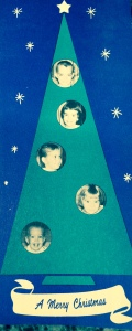 1962: George, Jana, Julie, Susan, Mike (no new babies this year)