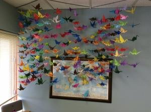 Paper cranes 209