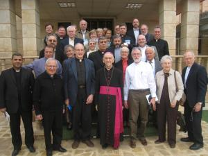 Kirkuk, Iraq, November, 2012, with The Outreach Foundation. The gentleman in the front row, second from the left, is now the patriarch of the Chaldean Catholic Church, His Grace, Louis Raphael Sako.