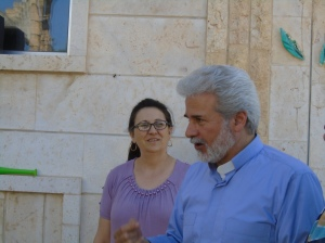 Assis Ma'an Bitar and wife Gwath Hanna of Mahardeh. Ma'an also pastors the church in Hama which is nearby.