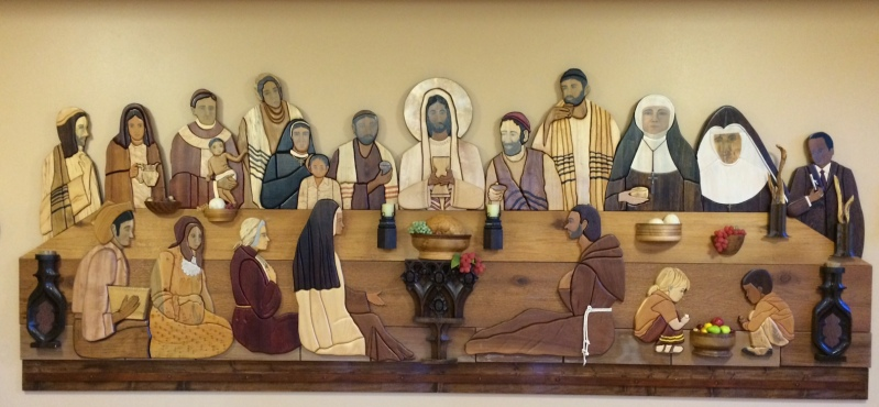 Mt St Francis last supper