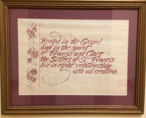 Mt St Francis mission statement